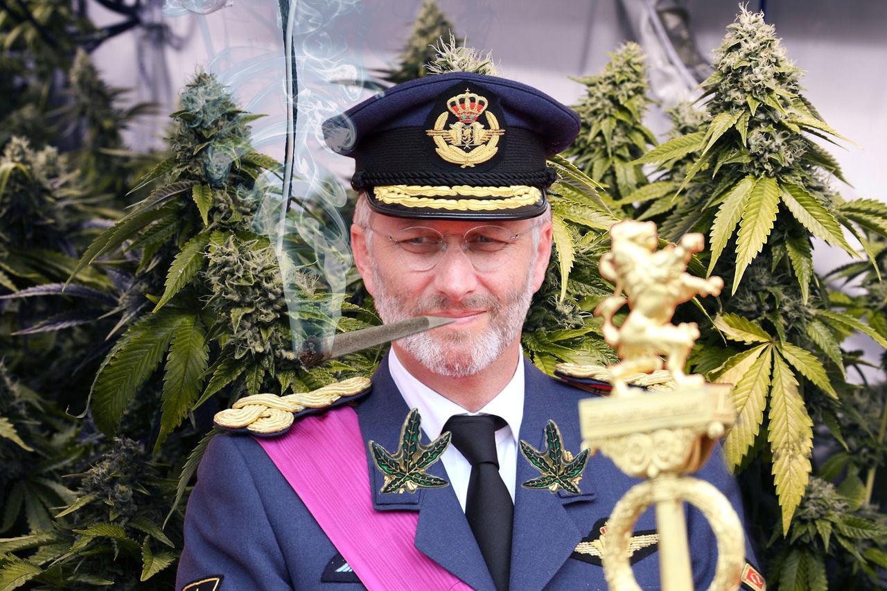 """Philippe 1er roi des belges : """"Il est temps de légaliser le cannabis dans toute l'Europe !"""""""