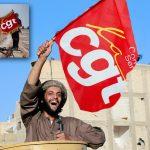 Militant-Etat-Islamique-cgt-greve-manigestation-150x150 Grève du 12 septembre : Emmanuel Macron participe 15 minutes par solidarité