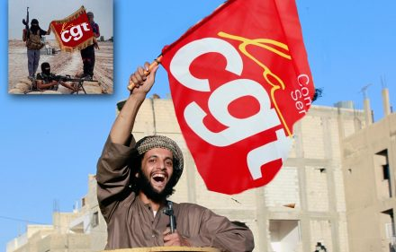 militant-etat-islamique-cgt-greve-manigestation