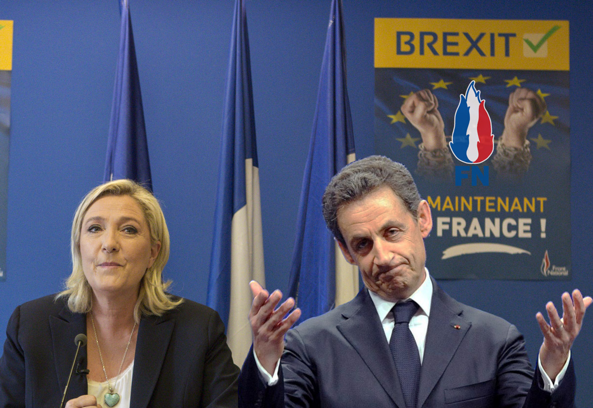 Officiel : Nicolas Sarkozy rejoint Marine Lepen au Front National !