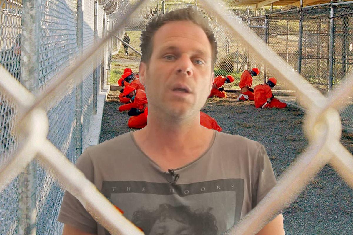 Rémi Gaillard s'enferme à Guantánamo pour inciter Obama à tenir sa promesse avant la fin de son mandat