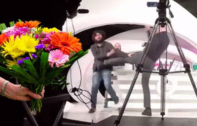 alain-soral-daniel-conversano-bouquet-fleur-secretnews