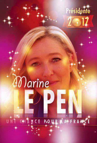montage-Marine-Le-Pen-04 TOP 50 des plus beaux montages photos de Marine Le Pen : Il y a du talent au FN !