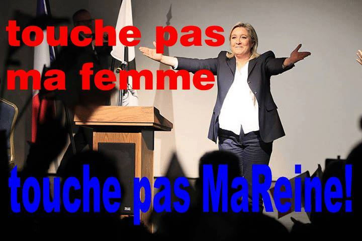 montage-Marine-Le-Pen-29 TOP 50 des plus beaux montages photos de Marine Le Pen : Il y a du talent au FN !