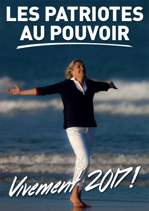montage-Marine-Le-Pen-41 TOP 50 des plus beaux montages photos de Marine Le Pen : Il y a du talent au FN !