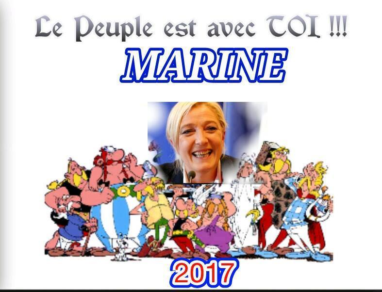 montage-Marine-Le-Pen-46 TOP 50 des plus beaux montages photos de Marine Le Pen : Il y a du talent au FN !