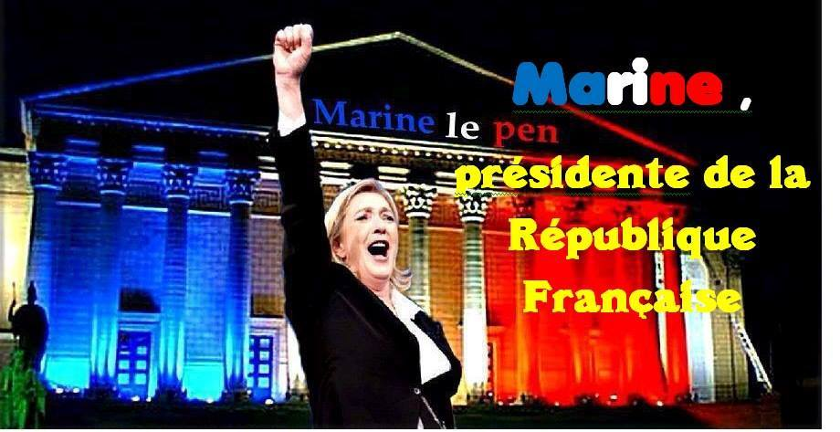 montage-Marine-Le-Pen-52 TOP 50 des plus beaux montages photos de Marine Le Pen : Il y a du talent au FN !
