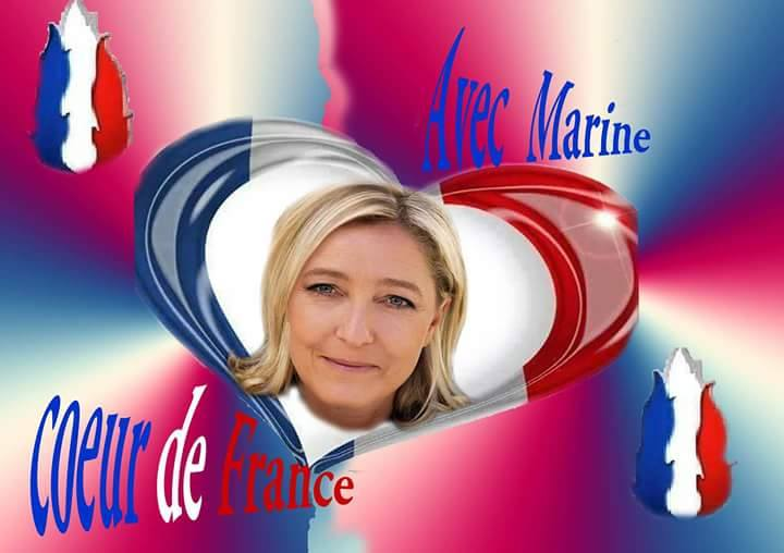 montage-Marine-Le-Pen-53 TOP 50 des plus beaux montages photos de Marine Le Pen : Il y a du talent au FN !