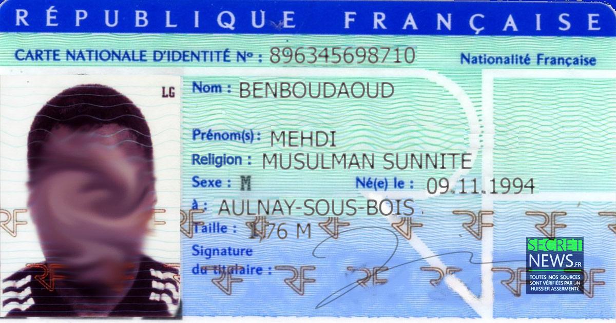 Votre Religion Bientot Obligatoirement Mentionnee Sur Votre Carte D