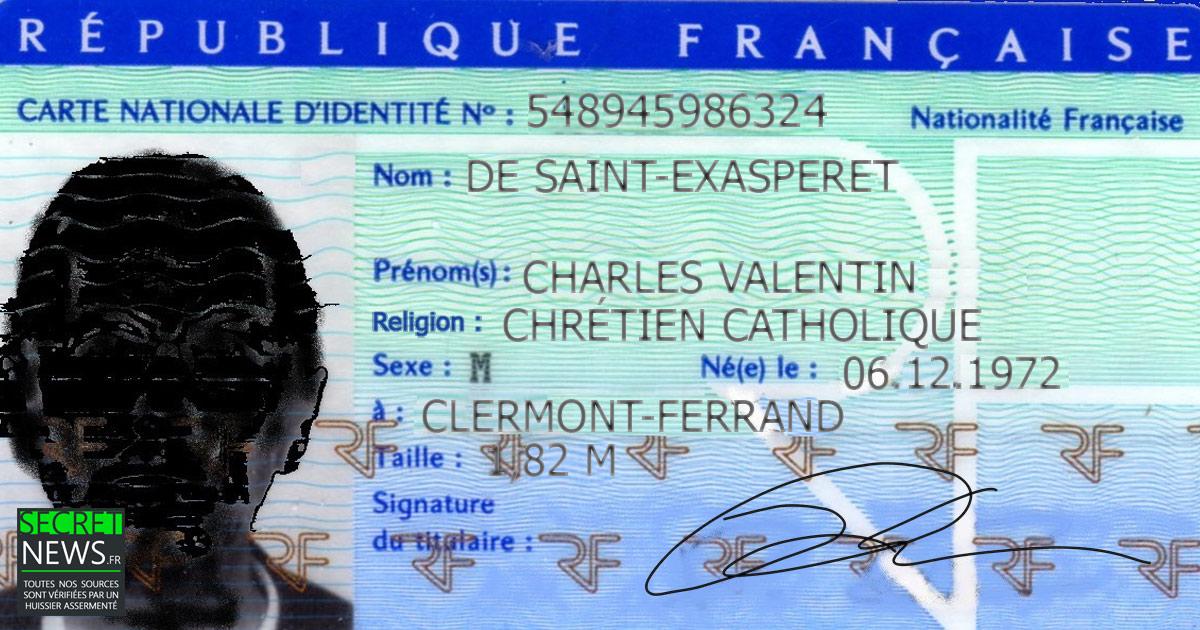 00124 Votre religion bientôt obligatoirement mentionnée sur votre carte d'identité (janvier 2018)