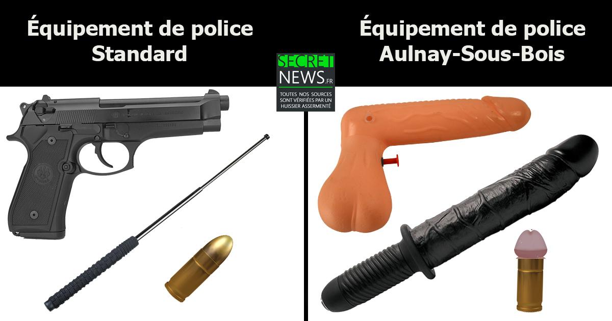 equipement-police-aulnay La police d'Aulnay-Sous-Bois va tester un nouveau modèle de matraque à partir de 2018