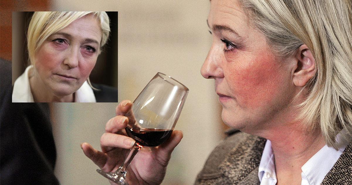 """Marine Le Pen évoque son combat contre l'alcoolisme et la dépression - """"Je voulais m'en sortir"""""""