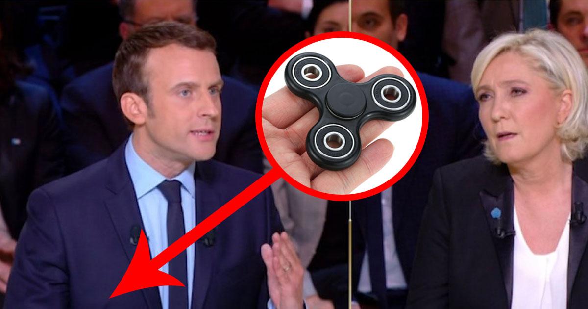 """""""Pour rester calme pendant les débats, j'ai mon Hand Spinner"""" - Emmanuel Macron confie ses trucs et astuces"""