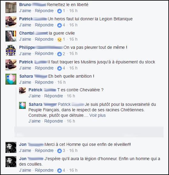 """commentaires-racistes-facebook-5-1 Quand les """"patriotes"""" se réjouissent d'un acte terroriste meurtrier, c'est aussi de la radicalisation"""