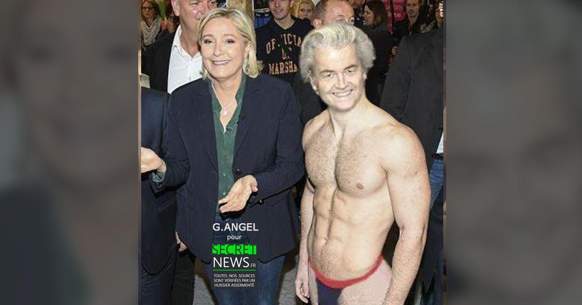 Geert Wilders a offert un strip-tease à Marine Le Pen pour son anniversaire