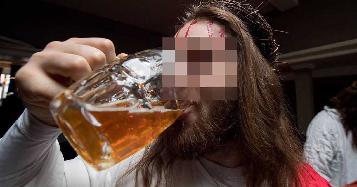 Une analyse du Saint-Suaire prouve que Jésus était alcoolique