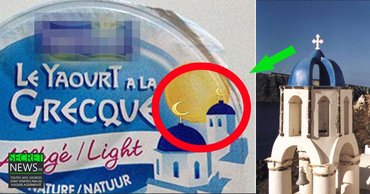 SCANDALE : Une marque de yaourt change les églises grecques en mosquées