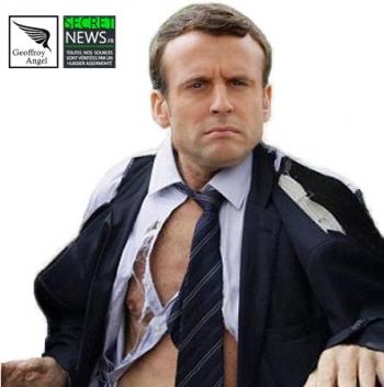 Macron-chemise-arrachée-1-350x352 Les reportages photos de Geoffroy Angel
