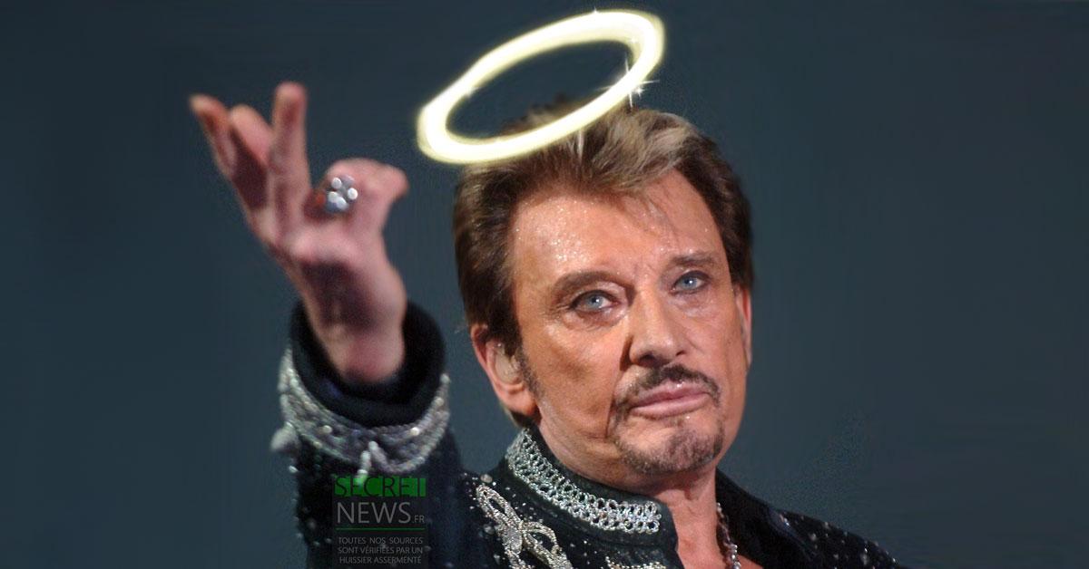 Bientôt un Saint Johnny ? Des dizaines de guérisons miraculeuses attribuées à Johnny Hallyday