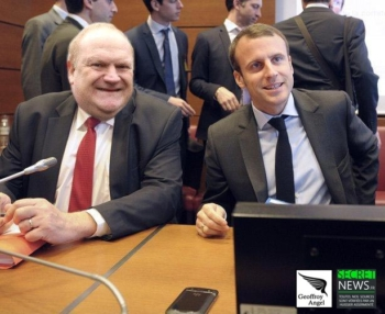 Macron-Franck-de-Lapersonne-350x286 Les reportages photos de Geoffroy Angel