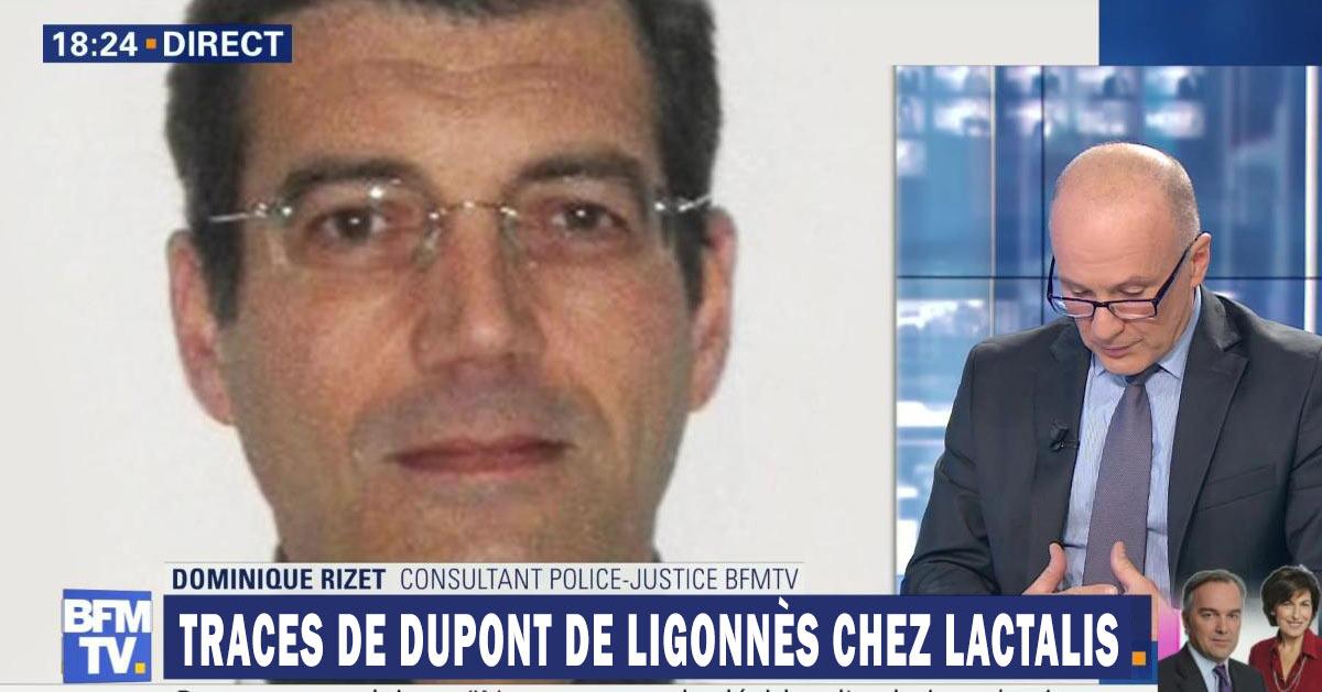 Des traces de Xavier Dupont de Ligonnès trouvées dans des lots Lactalis