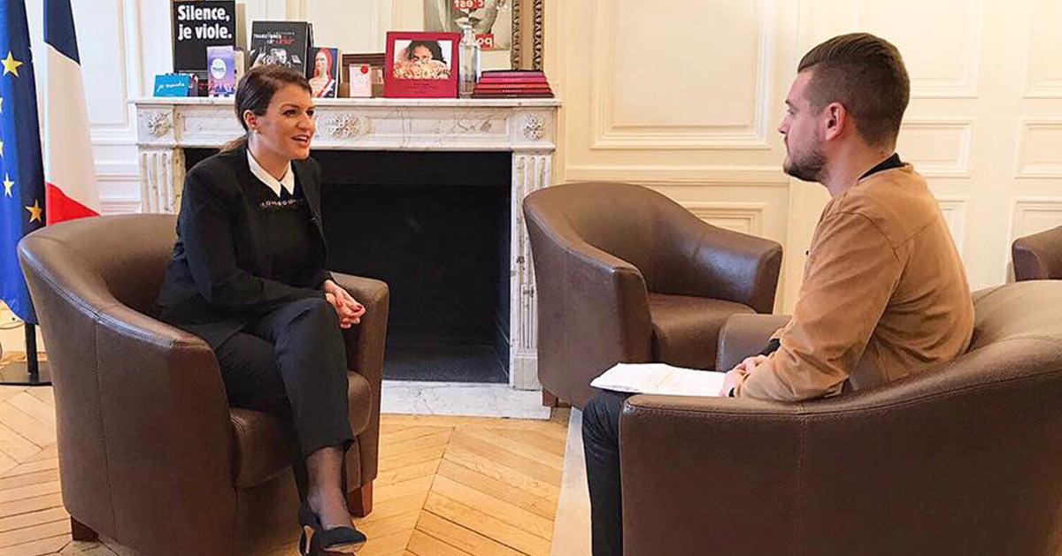 Marlène Schiappa convoque Jeremstar et lui demande gentiment de ne plus se masturber devant des adolescents