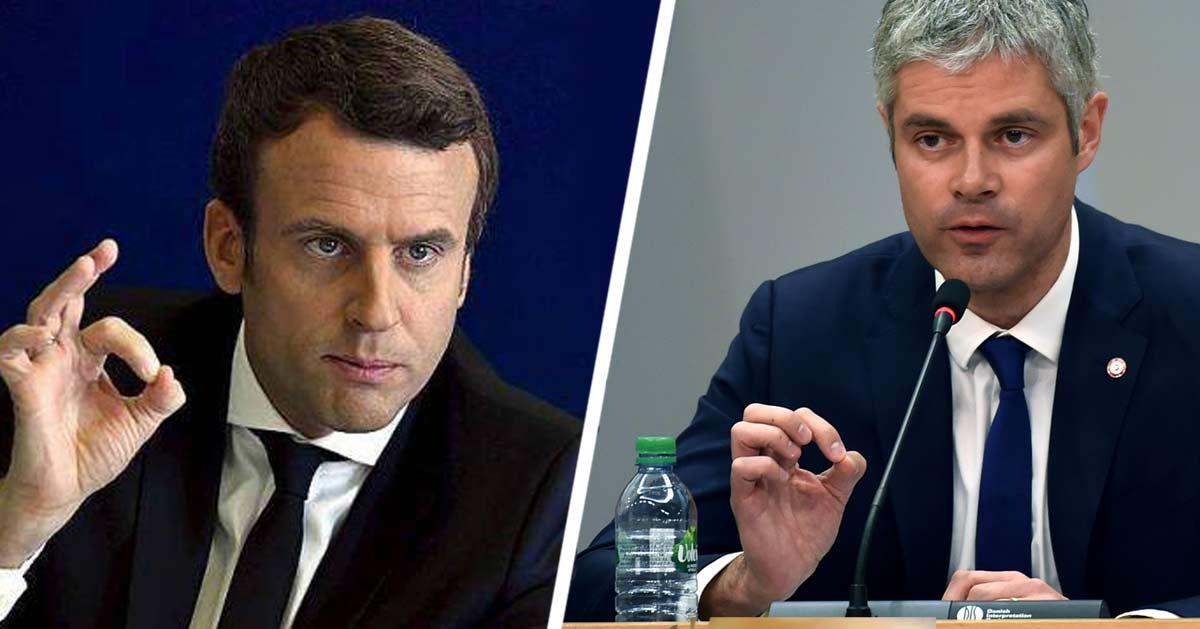 """Laurent Wauquiez : """"Avec Macron on joue souvent au jeu du rond"""""""