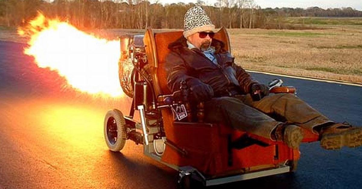 Sous l'emprise de cocaïne, un handicapé en fauteuil roulant flashé à 270km/h