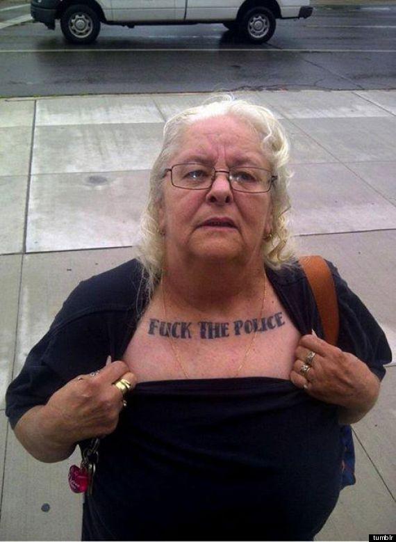 fuck-the-police Les retraités manifestent ce jeudi contre les violences policières subies par certains jeunes