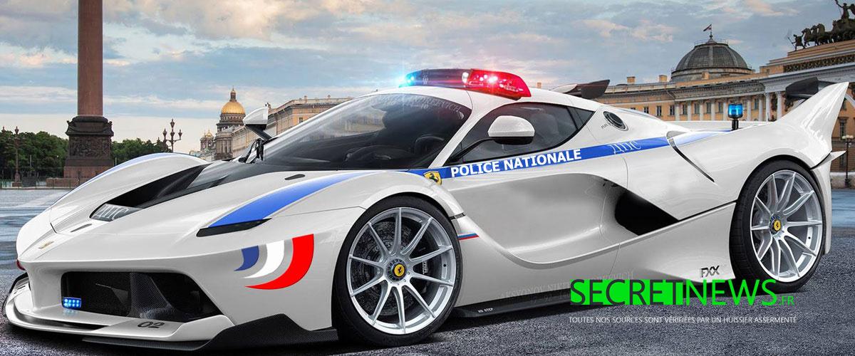 Bientôt 250 Ferrari flambant neuves pour la police française !