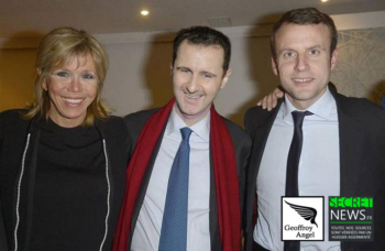 bachar-et-macron-350x228 Les reportages photos de Geoffroy Angel