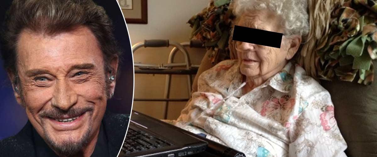 La troublante apparition du fantôme de Johnny Hallyday à une vieille dame de 93 ans