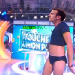 Pour séduire les Français et leur faire oublier les grèves, Macron dansera en slip chez Hanouna ce vendredi