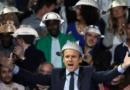 Macron reçu chez les pastafaristes : «il faut réparer le lien entre les Spaghetti et la Bolognaise »