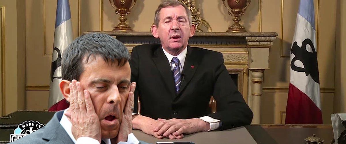 Manuel Valls candidat à l'élection présidentielle du Groland