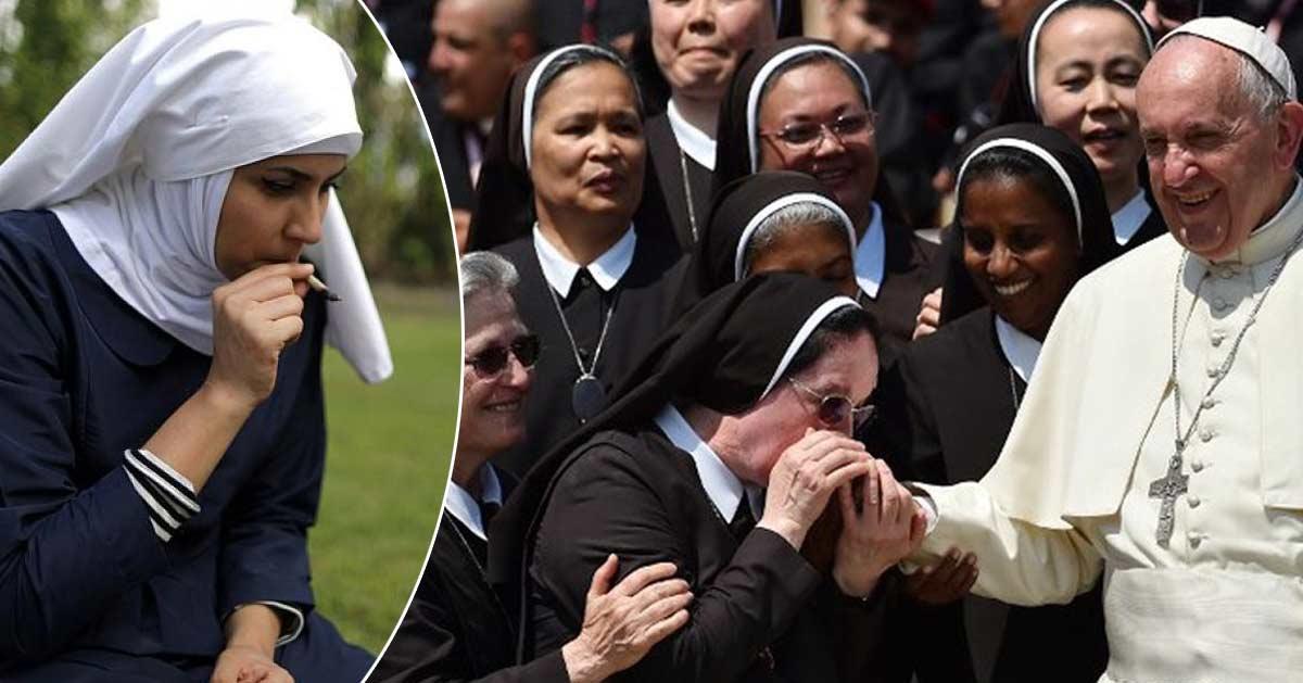 nonnes-soeurs-religieuses-drogues-virginite Islam & Laïcité : 53% des femmes voilées portent une perruque par dessus leur hijab