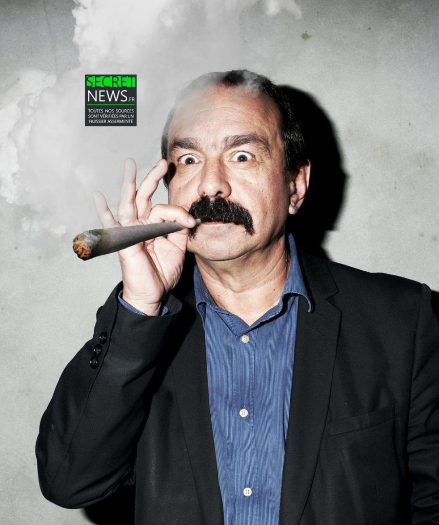 philippe-martinez-cannabis-cgt-1-856x1024 Philippe Martinez propose à Emmanuel Macron de négocier autour d'un joint de cannabis pour apaiser les tensions sociales