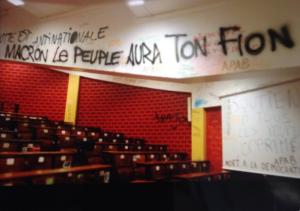 tag-vandalisme-tolbiac-300x211 Les magnifiques fresques révolutionnaires de Tolbiac seront exposées au Musée des Arts Urbains et du Street Art (PHOTOS)