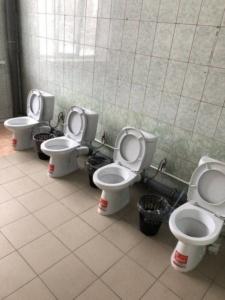 toilettes-sans-portes-225x300 Vigipirate : les portes des toilettes retirées dans les bâtiments publics pour des raisons de sécurité