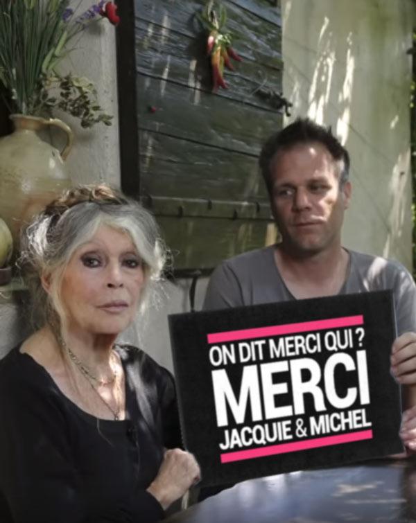brigite-bardo-remy-gaillard-porno-jacquie-michel-1 Brigitte Bardot et Rémi Gaillard présentent leur vidéo porno pour Jacquie et Michel tournée dans un abattoir du Gard
