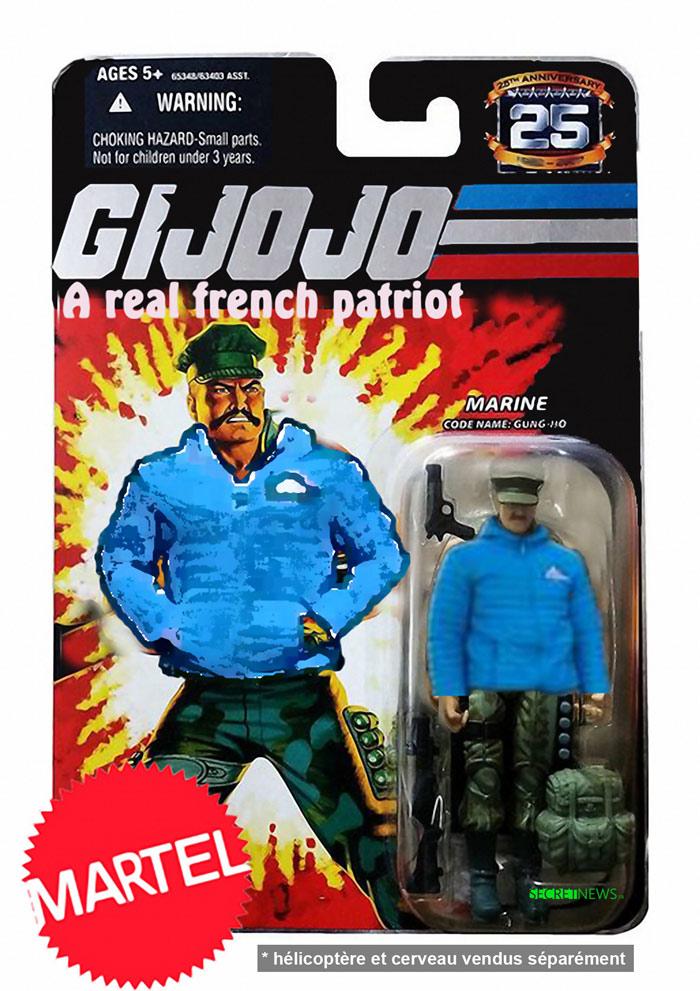 gijojo-generation-identitaire-1 GI JoJo : les patriotes légendaires de Génération Identitaire vendus en figurines Martel™