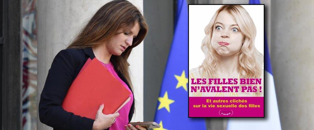 """Grâce à son livre """"Les filles bien n'avalent pas"""", Marlène Schiappa devient la 10ème femme élue à l'Académie Française"""
