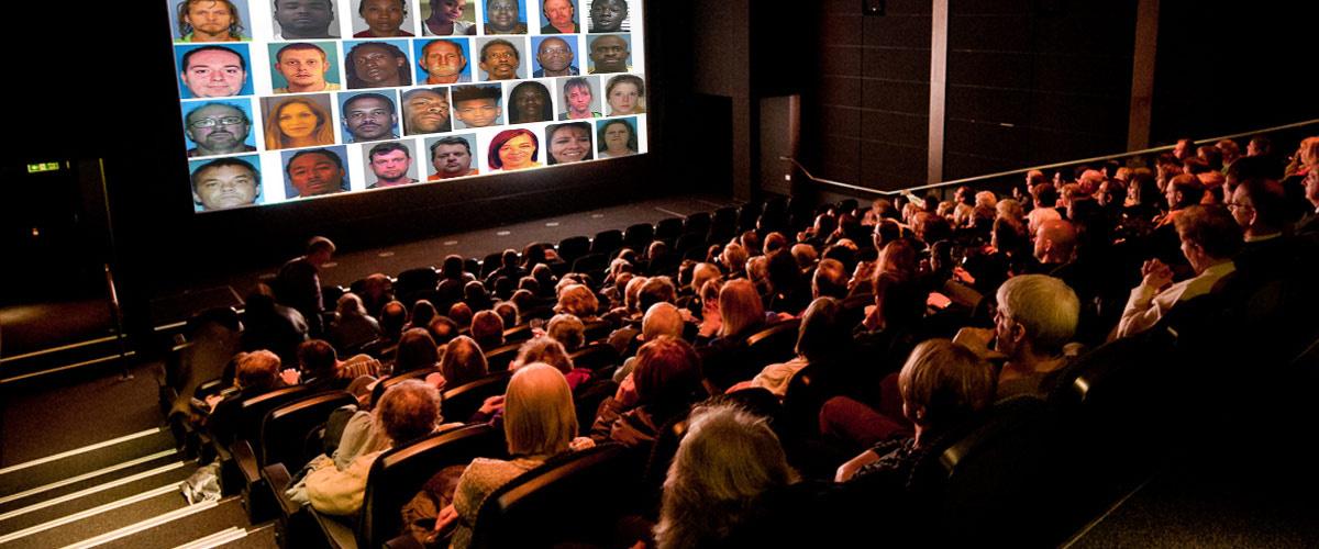 Les visages des pédophiles en liberté seront projetés avant les films dans tous les cinémas européens