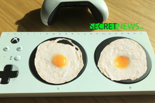 High-Tech : Xbox dévoile la manette à poêles, pour cuisiner tout en jouant