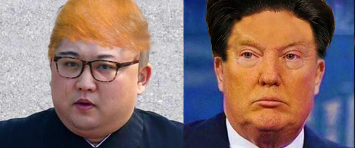 Vis ma vie : Donald Trump et Kim Jong-Un ont décidé d'échanger leurs rôles