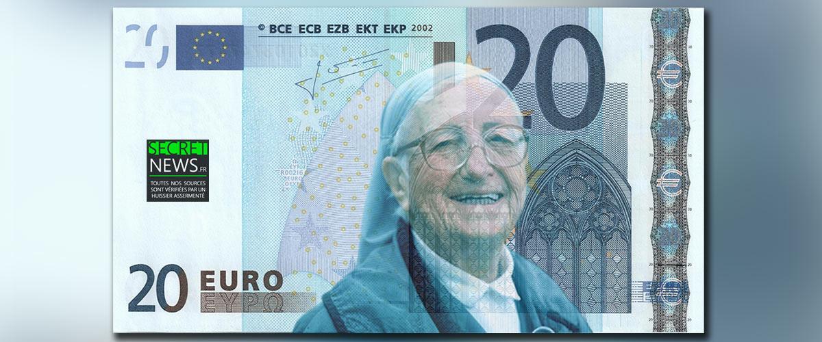 Laurent Wauquiez propose que son amie Soeur Emmanuelle figure sur les billets de 20 euros pour représenter nos racines judéo-chrétiennes