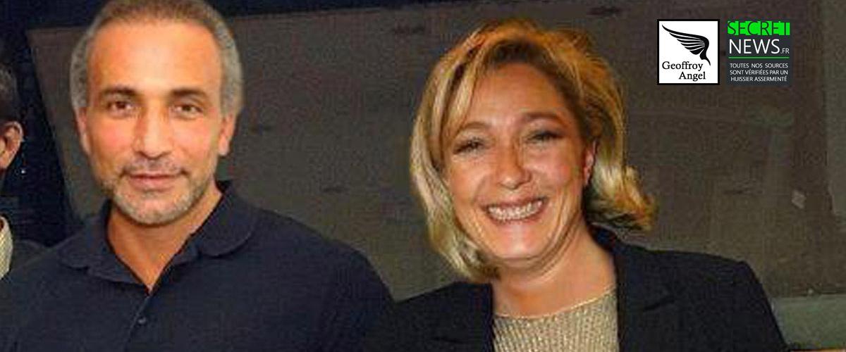 A la demande de Tariq Ramadan, Marine Le Pen endossera à nouveau sa robe d'avocate pour défendre l'islamologue