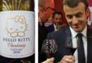 Le couple Macron a dépensé 262 000 euros pour une bouteille de Chardonnay Hello Kitty californien