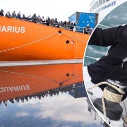 Un donateur anonyme s'engage à sauver le RN, à condition que Marine Le Pen parte en mission sur l'Aquarius