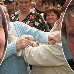 Orly : violente bagarre entre Annie Cordy et Chantal Goya ... 6 faux ongles et deux déambulateurs cassés